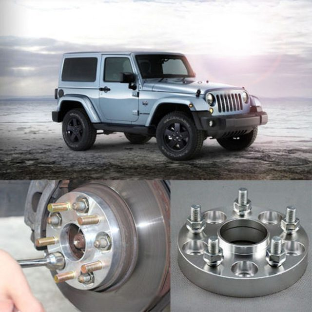 jeep wrangler wheel spacers