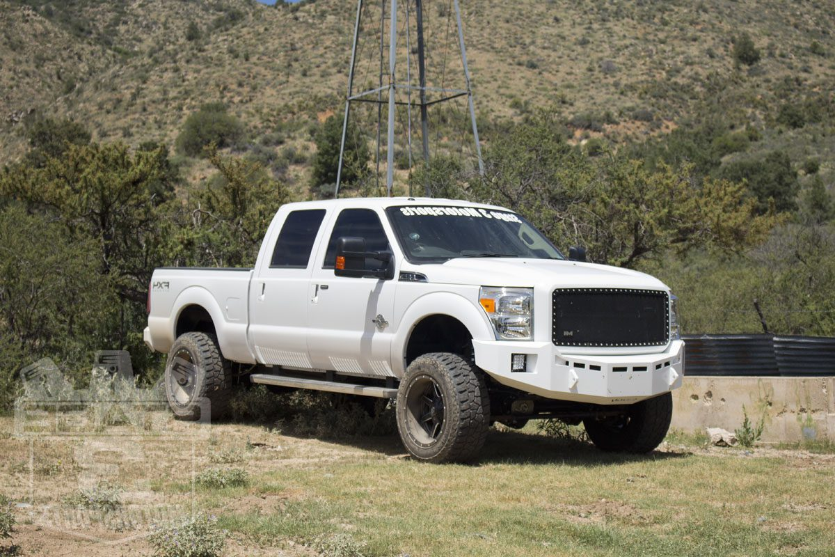 Ford F350 wheel spacers